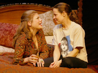 Kristen Johnston and Lili Taylor in Aunt Dan and Lemon(Photo © Carol Rosegg)