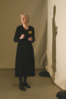 Kathleen Chalfant in The Last Letter(Photo © Gerry Goodstein)