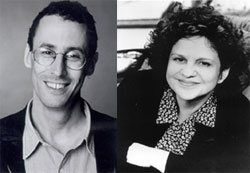 Two Jews in a room kibitzing:Tony Kushner and Wendy Wasserstein