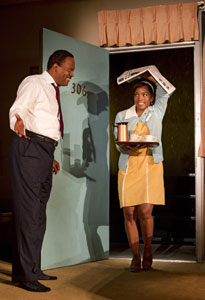 Samuel L. Jackson and Angela Bassett