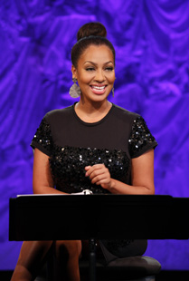 La La Anthony inLove, Loss, and What I Wore (© Carol Rosegg)