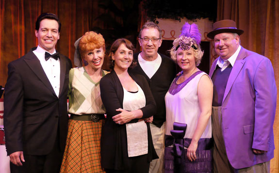Bill Mendieta, Sirena Irwin, Kim Flagg, Tim Allen, Lisa Joffrey, and Bill Chott