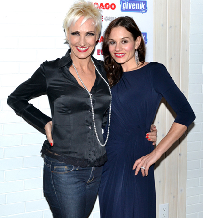 Amra-Faye Wright and Kara DioGuardi