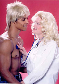 Taimak Guarriello and Rachael Robertsin Road House(Photo © Nick Andrews)