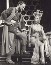 Alfred Drake and Joan Diener in Kismet(Photo courtesy of Albert Marre)