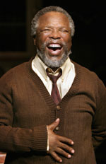 John Kani inNothing But the Truth(Photo &copy; Paul Kolnik)