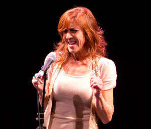 Andrea McArdle performs from Greenwood