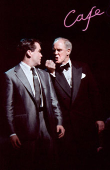 Brian D'Arcy James and John Lithgow inSweet Smell of Success(Photo © Paul Kolnik)