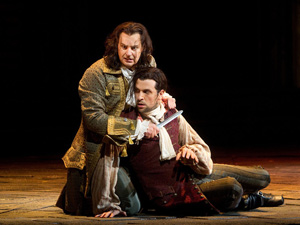 Peter Mattei and Luca Pisaroni in Don Giovanni