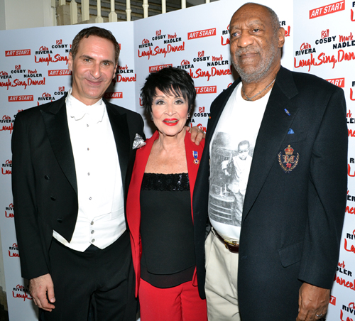 Mark Nadler, Chita Rivera, Bill Cosby