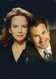 Linda Purl and Lee Lessack