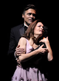 Brent Barrett and Susan Moniz
