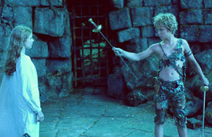 Rachel Hurd-Wood and Jeremy Sumpter in thenew Peter Pan film(Photo © Universal Studios)