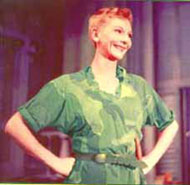 Mary Martin as a singing Peter Pan