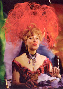 Carol Channing in Hello, Dolly!(Photo from Jerry Herman: The Lyrics)
