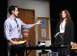 Santino Fontana and Joanna Gleason