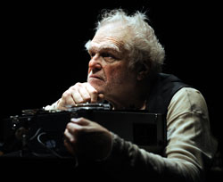 Brian Dennehy in Krapp's Last Tape
