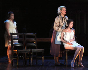 Vanessa Aspillaga, Maria Cellario and Marina Pulido