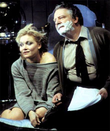 Essie Davis and Simon Russell Beale