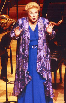 Marilyn Horne in performance