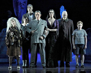 Jackie Hoffman, Rachel Potter, Zachary James, Roger Rees, Brooke Shields, Brad Oscar and Adam Riegler