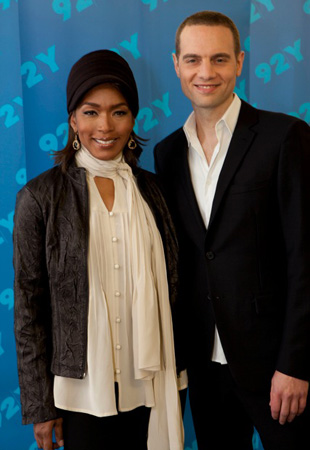 Angela Bassett and Jordan Roth