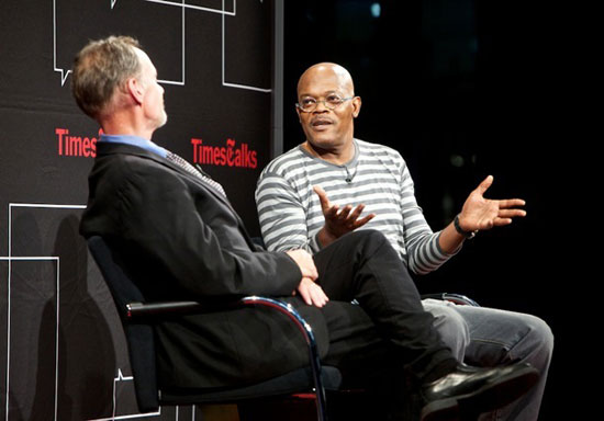 David Carr and Samuel L. Jackson