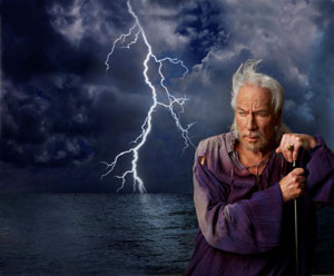 Christopher Plummer in PR image for The Tempest