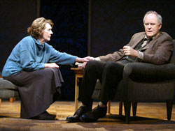Eileen Atkins and John Lithgow inThe Retreat from Moscow(Photo © Joan Marcus)