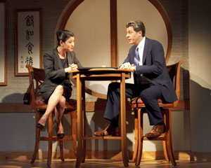 Jennifer Lim and Gary Wilmes in Chinglish