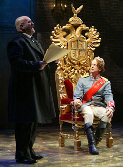 Jack Willis and Peter Frechette in Valhalla(Photo © Joan Marcus)