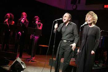 Barry Mann, Cynthia Weil, and company in They Wrote That?(Photo &copy; Joan Marcus)