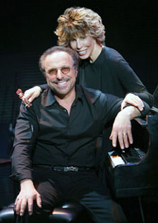 Barry Mann and Cynthia Weil(Photo &copy; Joan Marcus)