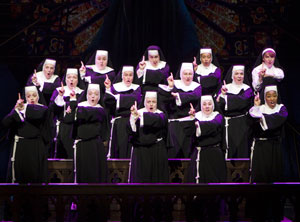 A scene from Sister Act