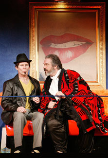 Brian McEleney and Fred Sullivan, Jr.in The Merry Wives of Windsor(Photo © T. Charles Erickson)