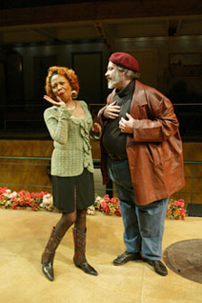 Barbara Meek and Fred Sullivan, Jr.in The Merry Wives of Windsor(Photo © T. Charles Erickson)