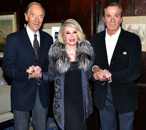 Alan Shayne, Joan Rivers, and Norman Sunshine