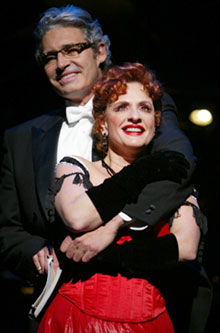 Patti LuPone and Michael Nouri in Can-Can(Photo © Joan Marcus)