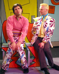 Jerry Marsini and Tim Cusack in Bald Diva!(Photo © Chris Kalb)