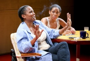 Tonya Pinkins and Angela Lewis