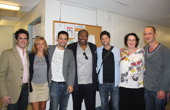 Andy Blankenbuehler, Amanda Green, Lin-Manuel Miranda, Leslie David Baker, Tom Kitt,