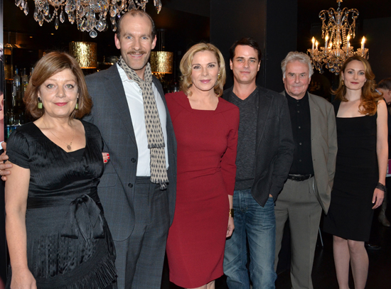 Caroline Olsson, Simon Paisley Day, Kim Cattrall, Paul Gross, Richard Eyre, and Anna Madeley