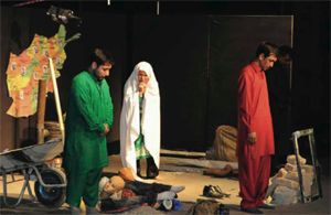 A scene from Infinite Incompleteness (Courtesy of the company)