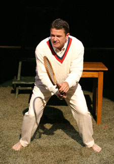 John Michael Higgins in Big Bill(Photo © Richard Feldman)