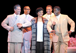 Robert Torti, Kevyn Morrow, Leslie Uggams, Jordan Barbour