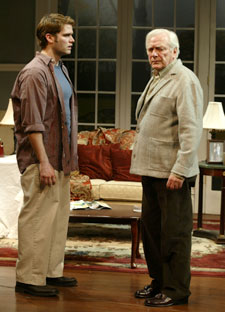 Steven Pasquale and George Grizzardin Beautiful Child(Photo © Carol Rosegg)