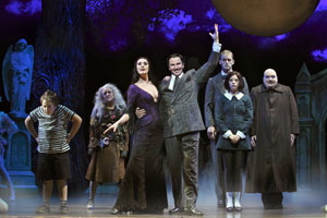 The Addams Family touring cast