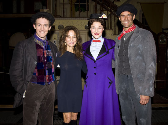 Case Dillard, Susan Lucci, Steffanie Leigh, and Cameron Mathison