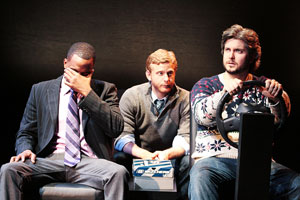 Duane Cooper, Andy Lutz, and Curran Connor in Two-Man Kidnapping Rule (© Ryan Wijayaratne)