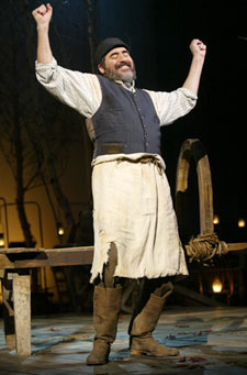 Alfred Molina in Fiddler on the Roof(Photo © Carol Rosegg)